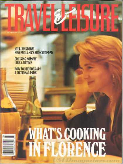 Travel & Leisure - July 1992