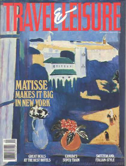 Travel & Leisure - September 1992