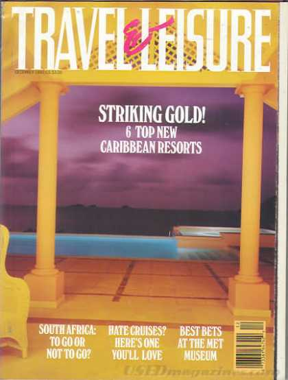 Travel & Leisure - December 1992