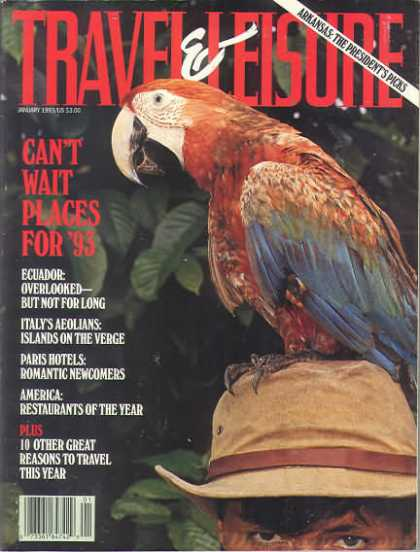Travel & Leisure - January 1993