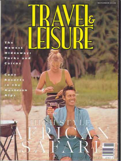 Travel & Leisure - November 1994