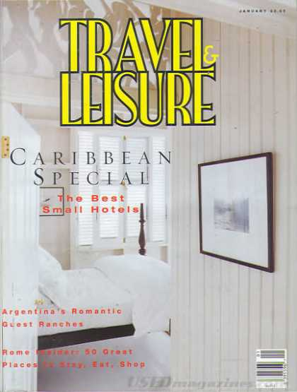 Travel & Leisure - January 1995