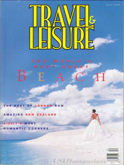 Travel & Leisure - April 1995