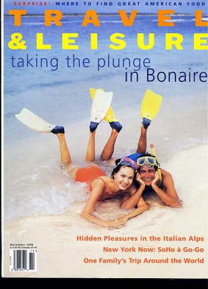 Travel & Leisure - November 1996