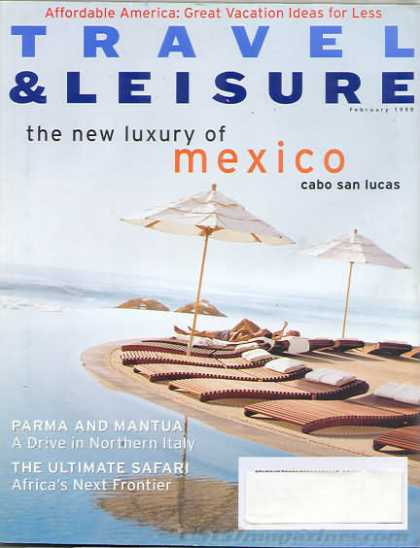 Travel & Leisure - February 1998