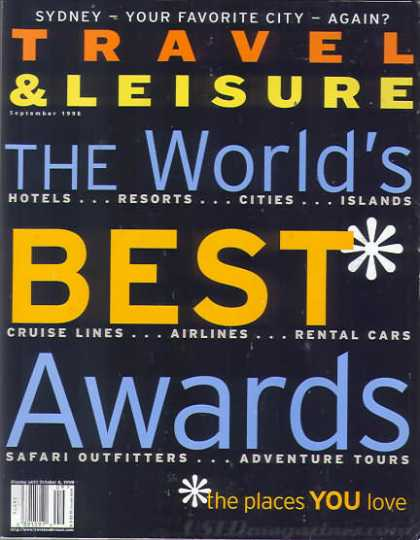 Travel & Leisure - September 1998