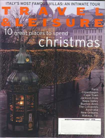 Travel & Leisure - December 1998