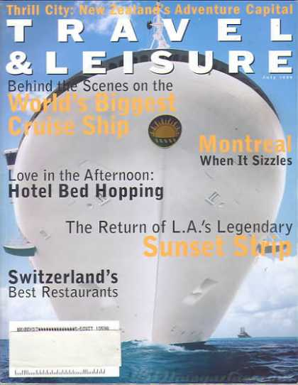 Travel & Leisure - July 1999
