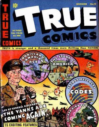 True Comics 19 - Codes - Secret Message - America - General - Yanks