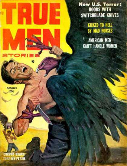 True Men Stories - 10/1957
