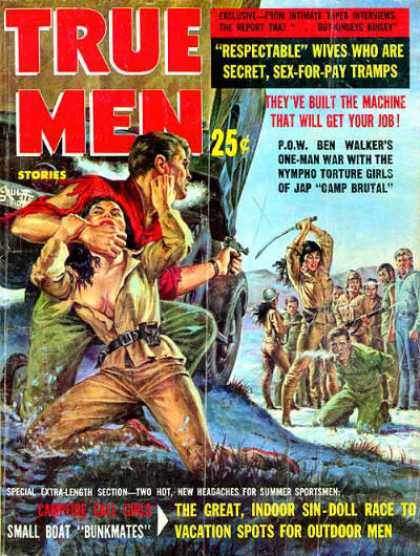 True Men Stories - 7/1962