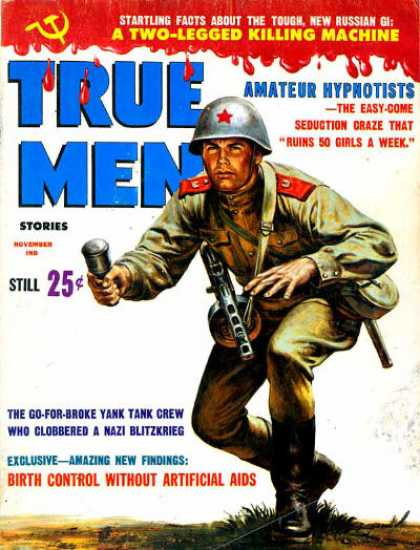 True Men Stories - 11/1962