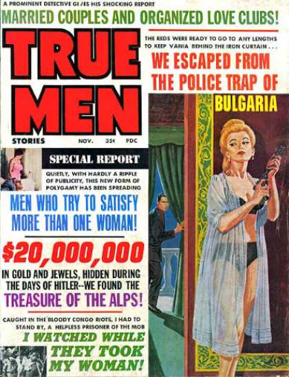 True Men Stories - 11/1966