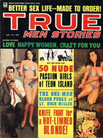 True Men Stories - 1/1968