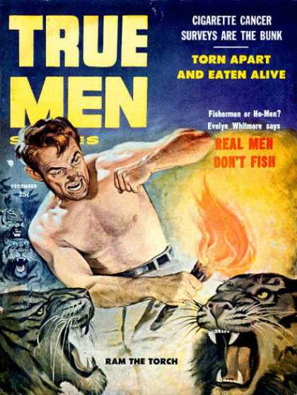 True Men Stories - 12/1957