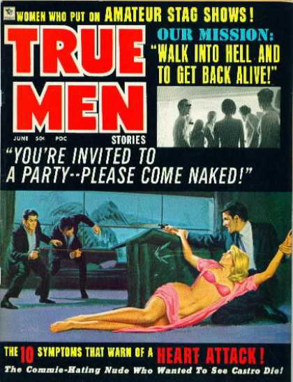 True Men Stories - 6/1960