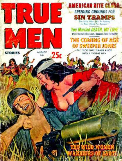 True Men Stories - 8/1960