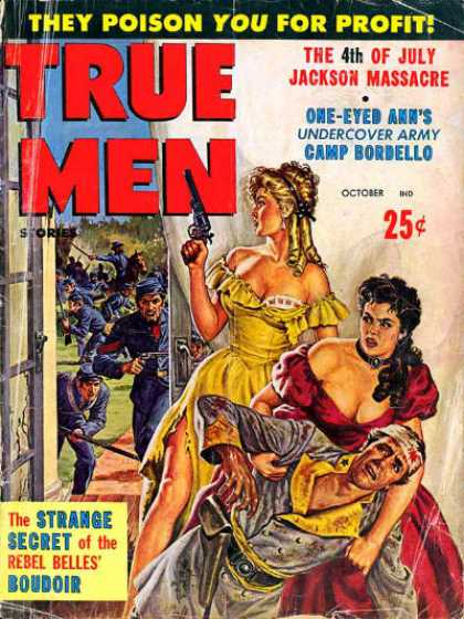 True Men Stories - 10/1960