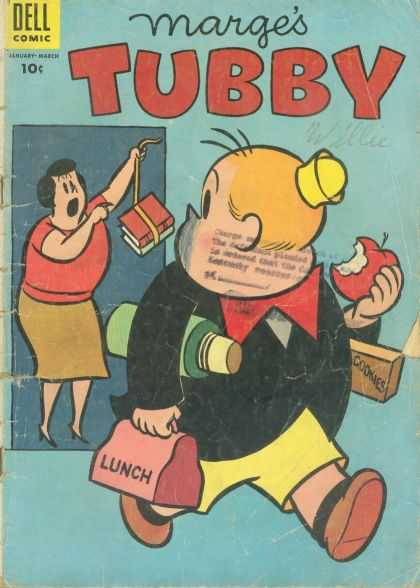 Tubby 11 - Fat Boy - Books - Yellow Hat - Lunch Box - Red Tie