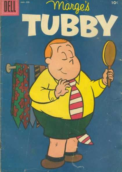Tubby 20 - Dell - Mirror - Neck-tie - Yellow Jacket - Fat Boy