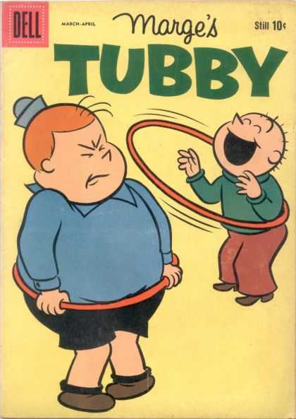 Tubby 33 - Marge - Hula Hoop - Dell - 10 Cents - March - April