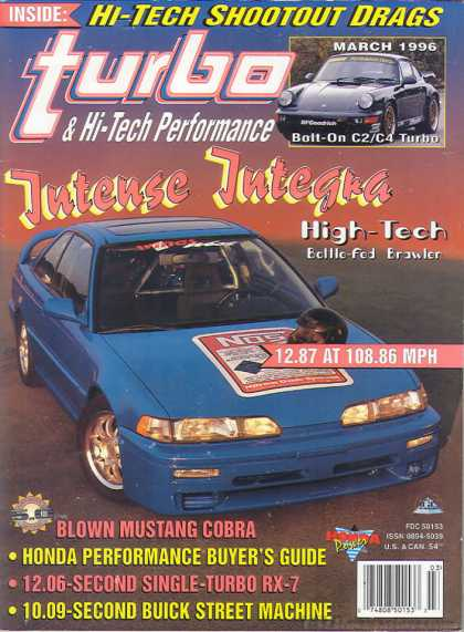 Turbo & Hi-Tech Performance - March 1996