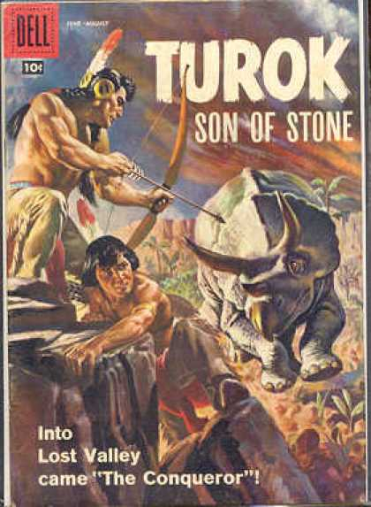 Turok: Son of Stone 12 - Dinosaurs - Indians - Stone Age - War - Arrows