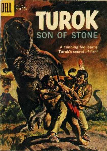 Turok: Son of Stone 18 - Hunter - Indian - Dinosaur - Volcano - Bow