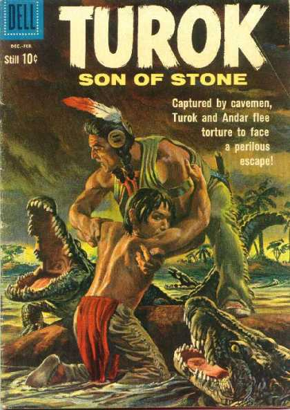 Turok: Son of Stone 22 - Cavemen - Swamp - Feather - Alligator - Sharp Teeth