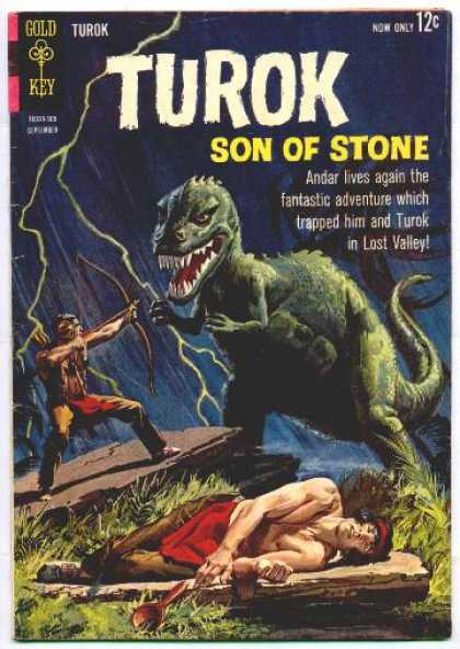 Turok: Son of Stone 35 - Andar - Turok - Lost Valley - Fantastic Adventure - Dinosaur