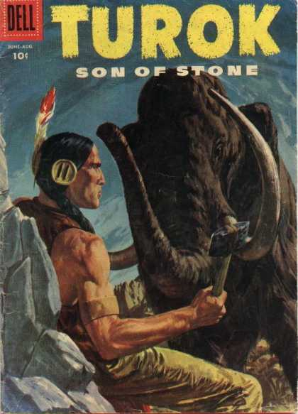 Turok: Son of Stone 4 - Dell - Elephant - Indian - Axe - Stone