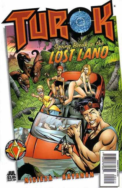 Turok: Spring Break in the Lost Land 1 - Tutok - Acclaim Comics - Jul - July - Nicieza