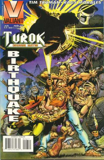 Turok 26 - Valiant - Salvages - Bows And Arrows - Forest - Feathers