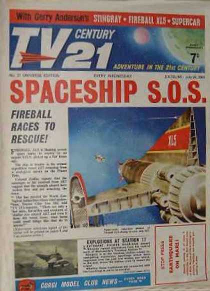 TV Century 21 27 - Space Age - Spaceship Stranded - The Age Of The Space Age - Wholl Rescue Us - Saving The Space Age