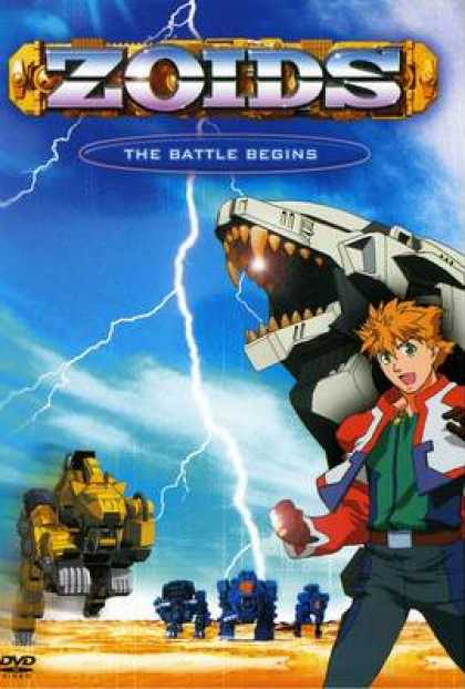 TV Series - Zoids - The Battle Begins Thinpack