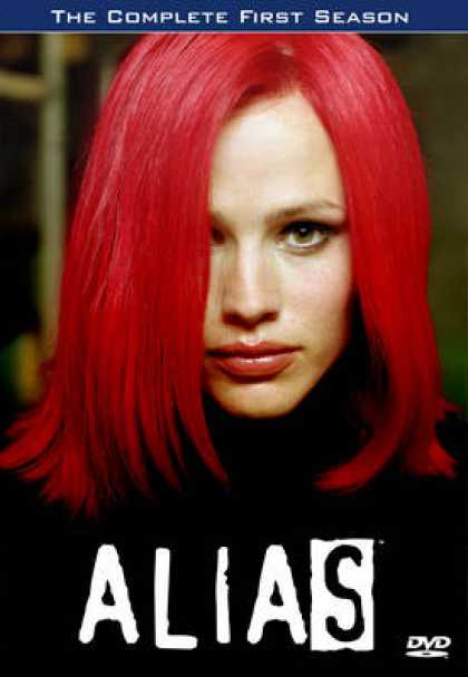 TV Series - Alias 1-2-3-4-5 Collection Covers