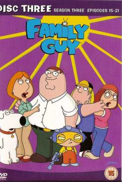 TV Series - Family Guy Episodes 15-21