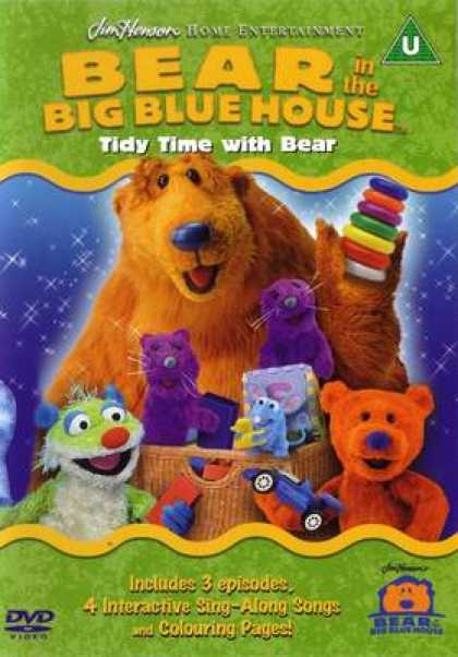 TV Series - Bear In The Big Blue House - Tidy Time