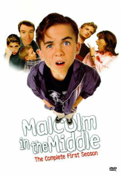 TV Series - Malcolm In The Middle 2 3 4 5 6