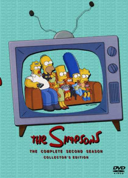 TV Series - The Simpsons The Complete SWEDISH