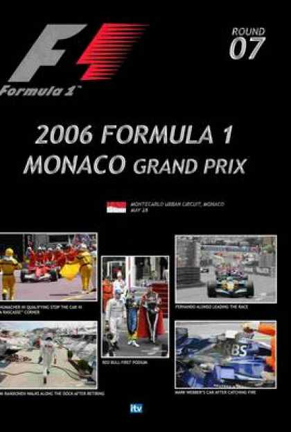 TV Series - Formula 1 - 2006 Monaco Grand Prix Thinpack