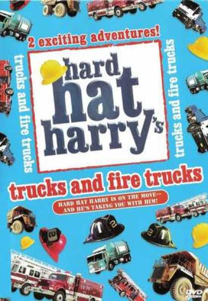TV Series - Hard Hat Harrys - Trucks And Fire Trucks