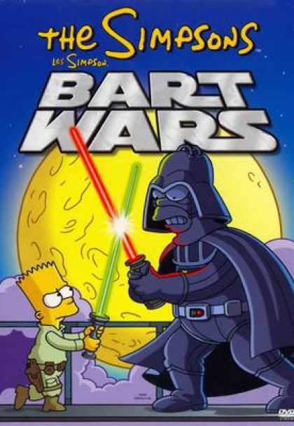 TV Series - The Simpsons Bart Wars