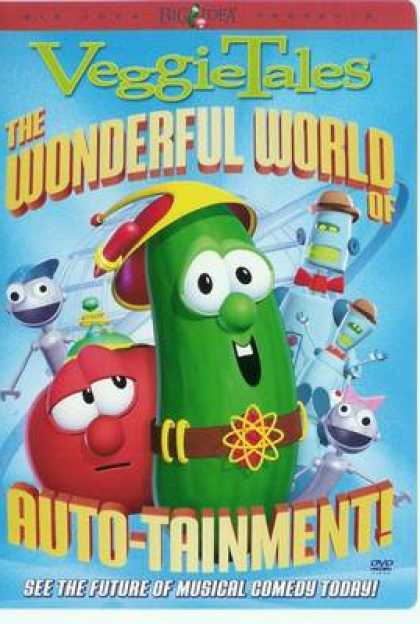 TV Series - Veggie Tales The Wonderful World Of Auto Tainm