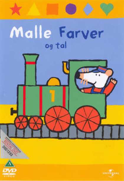 TV Series - Maisy Colours And Counting - Malle Farver Og