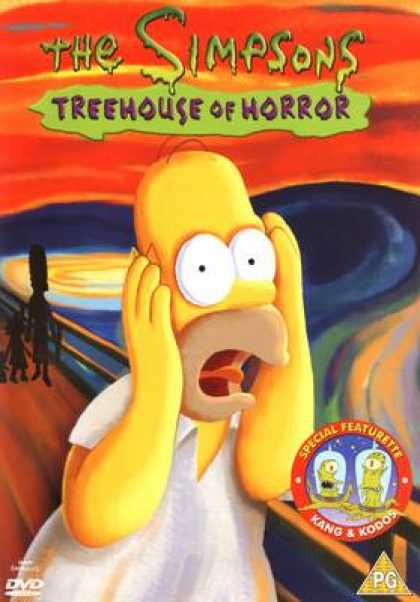 TV Series - The Simpsons Treehouse Of Horror Uk