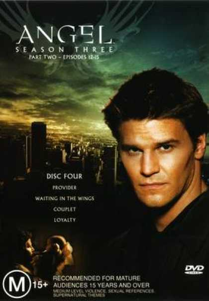 TV Series - Angel Disc Four Hq