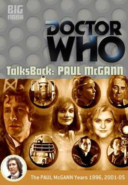 TV Series - Doctor Who - Talk Back Paul Mcgann