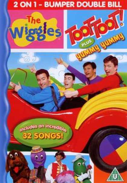 TV Series - The Wiggles Toot Toot Plus Yummy Yummy