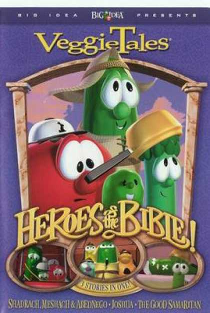 TV Series - Veggie Tales Stand Up Stand Tall Stand Strong